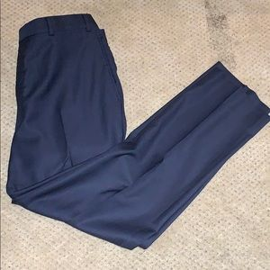 Kirkland suit pants navy blue